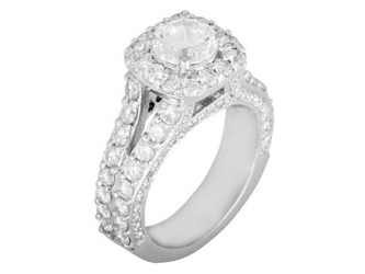 Levy  Engagement Ring by Levy Creations